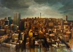 city chromatic | oil on canvas 150 cm x 200 cm